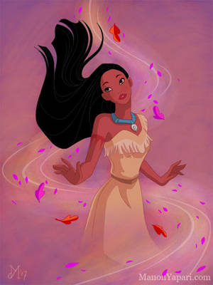 Pocahontas by manony