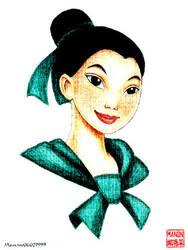 Mulan as Ping by manony