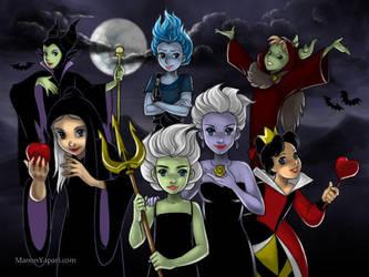 Disney Halloween by manony