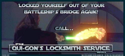 Qui-gon's Locksmith Service 2 by Starfire-013