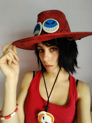Cosplay Portgas D'Ace (girl version) by Shira-Hisa