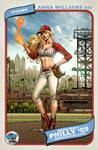 Wizard World baseball card by Dominic-Marco
