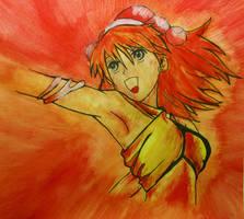 Sora Element: Fire by Mururu