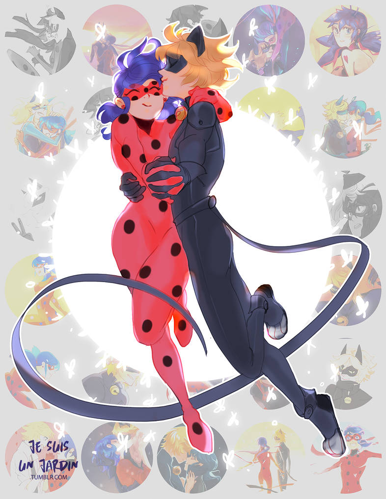 1 year of miraculous by GardenofSpice