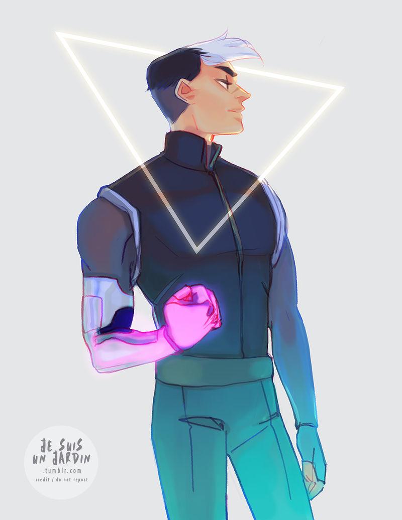 Space lad shiro by GardenofSpice