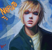 Naruto by jubliantlaine