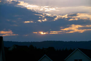 Helios Hiding in the Clouds #1 by ChrisNs