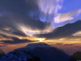Golden Sunset No.2 by ChrisNs