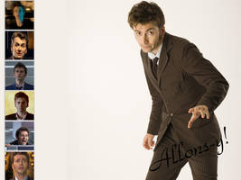 The Tenth Doctor-Wallpaper by pfeifhuhn