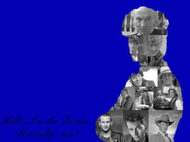 The Doctor-Wallpaper by pfeifhuhn