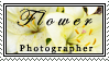 flower photographer stamp by shannonmari3