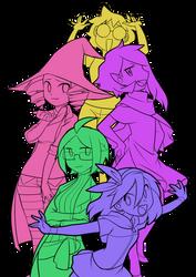 Pokenope girls by lumi-mae