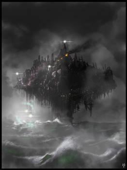 Darksynth Project / worldbuilding / visual concept by MarsVanBars