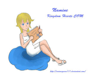 namine-KHCOM by Animequeen111
