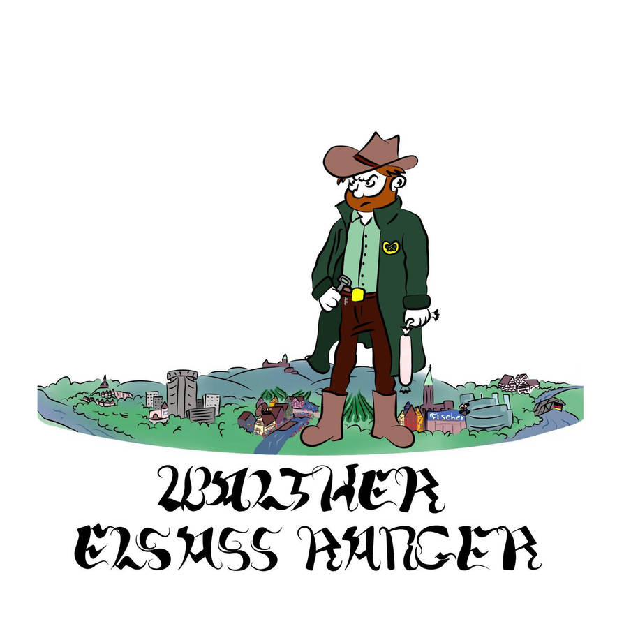 Couverture Walther Elsass Ranger by Jimo891
