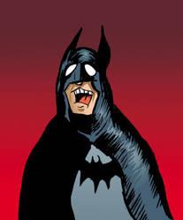 Batman Yelling by EDarnes
