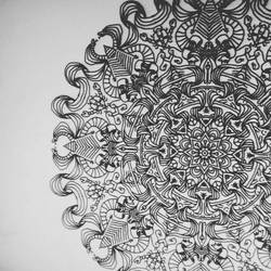Ever try drawing mandala with only MOUSE! tryIt!!  by TABishere