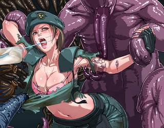Jill Valentine Surrenders GAME OVER by Returnofbee