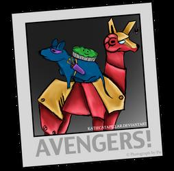 AVENGERS! by katiecatapillar