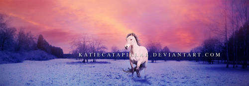 A cold sunset by katiecatapillar