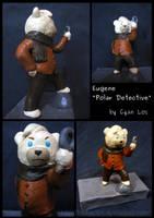 Eugene Polar - Detective Sculpture by tushantin
