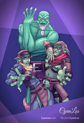 Styx's Bizarre Adventure - Shards of Stardust by tushantin