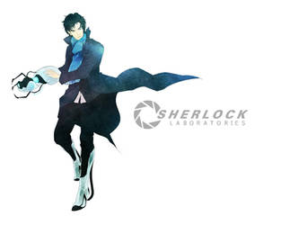 Sherlock Laboratories by inklou