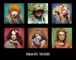 Dodgson Girls by yuko-rabbit