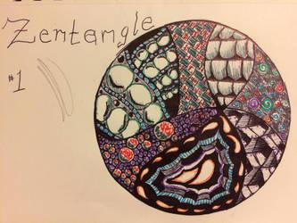 Random Zentangle by Fallenangelassasin