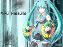 Hatsune Miku by Zeerooh