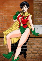Robin Girl 02 by Shinkaigyo