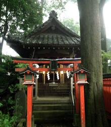 Mabashi shrine by Shinkaigyo