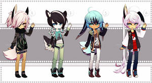 mixed bunnies | adopt auction - CLOSED by SoukiAdopts