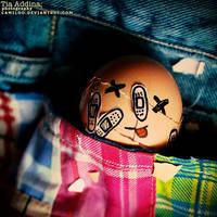 A Yolky Demise. by Camiloo
