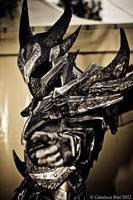 Cosplay Dovahkiin Daedric full armor from Skyrim by Zerios88