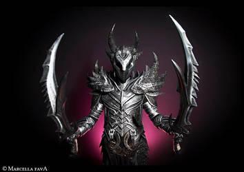Daedric Armor Cosplay by Zerios88