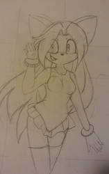 Sonic OC: Serenity by UsagiPanda25