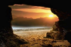 Sunset Beach Stock by blaisedrew62