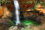 Waterfall Pool Stock by blaisedrew62