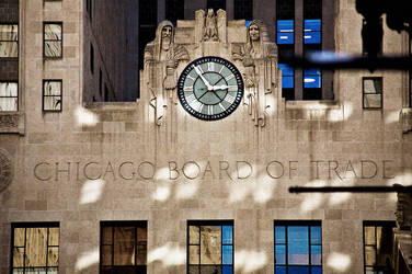 Chicago Board of Trade by delobbo