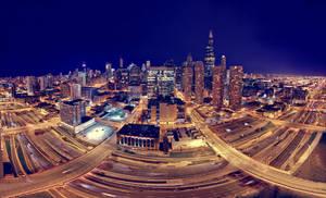 Chicago pano-Skybridge v2 by delobbo