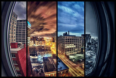 4-frame HDR timescape by delobbo