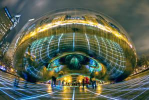 Luftwerk 'Luminous Field' Exhibit v1 by delobbo