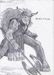 Minotaur by Weziens-Reader