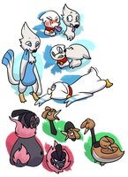 Levels for newer mons by Featherkissed