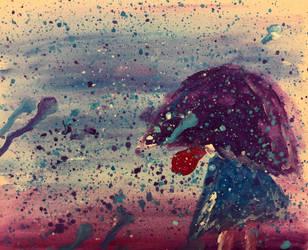 Melancholic Rain by exfodes