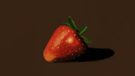 Strawberry Practice by Xabring