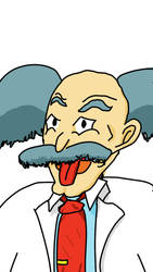 Dr Wily sketch by Xabring