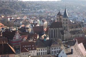 Esslingen Cityscape by Merkosh