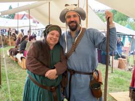 Lady Ira and the Pilgrim by Merkosh